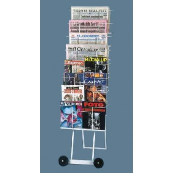 DISPLAY STAND FOR NEWSPAPERS