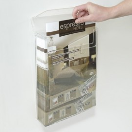 WATERPROOF OUTDOOR BROCHURE HOLDER