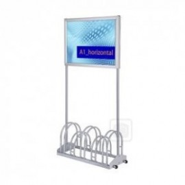-BIKE CARRIER WITH SNAP FRAME