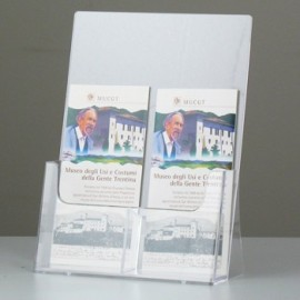 1/2 POCKET BROCHURE HOLDER 3A4 SIDE by SIDE