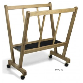 POSTER HOLDER WOODEN EASEL