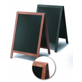 WOODEN EASEL WRITABLE