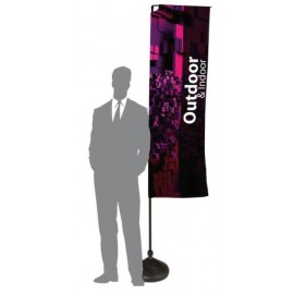 EXHIBITOR SQUARE PRINTED FLAG
