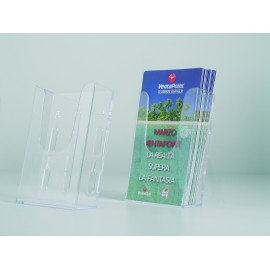 WALL BROCHURE HOLDER 1/3A4 ECONOMY