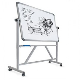 ROTATING STEEL WHITEBOARD