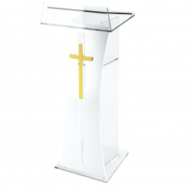 PLEXIGLASS CHURCHES STAND