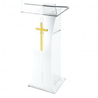 PLEXIGLASS CHURCHES STAND