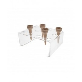 DOOR-ICE CREAM CONES 12-SEATER bench