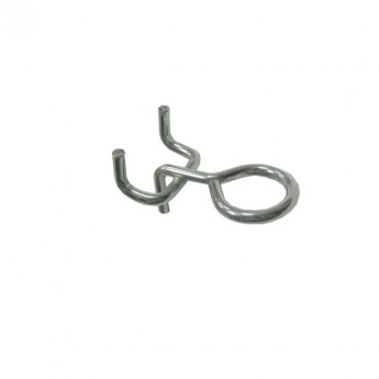 # 10 EYE HOOKS for PERFORATED PANELS