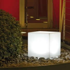 CUBO LUMINOSO A LED