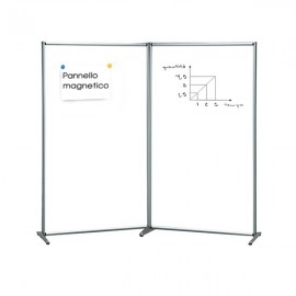 DOUBLE PANEL MAGNETIC AND WRITABLE