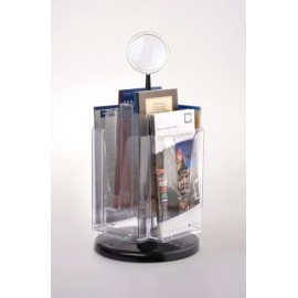 6xA6 ROTATING BROCHURE HOLDER