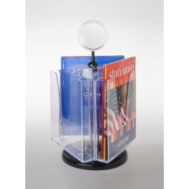 3xA4 ROTATING BROCHURE HOLDER