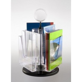 6xA4 ROTATING BROCHURE HOLDER