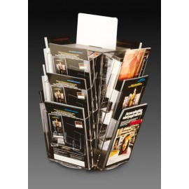 12xA4 ROTATING BROCHURE HOLDER