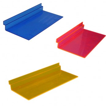 TOP IN COLORFUL PLEXI FOR SLATWALL