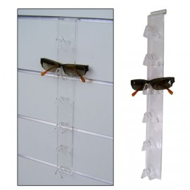 6 SEATER glasses holder for SLATWALL