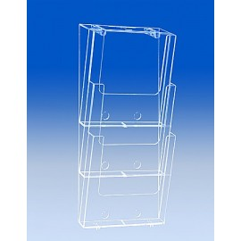 3xA4 WALL BROCHURE HOLDER