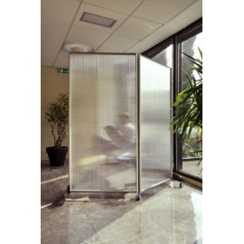PARTITION PANEL POLY DOUBLE